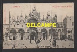 DD / ITALIE / VÉNÉTIE / VENISE / SAINT MARC ET LES GENS QUI NOURRISSENT LES PIGEONS / CIRCULÉE EN 1904 - Venezia (Venice)
