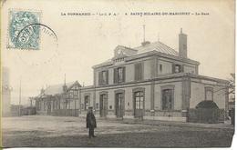 CPA Animée De 1907 : Saint Hilaire Du Harcouët (50) - La Gare - Saint Hilaire Du Harcouet