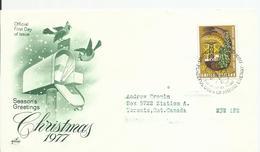 Naciones Unidas. 1977. Carta Circulada A Toronto. - New York -  VN Hauptquartier