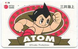 1969 - ATOM Manga Anime Japan Telefonkarte - BD