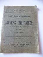 VILLE De BEDARIEUX : Livret Mutuels Des Anciens Militaires A Partir De 1929. - Languedoc-Roussillon
