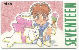 1972 - SEVENTEEN Manga Anime Japan Telefonkarte - BD