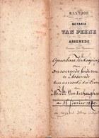 AKTE 1879 ** ASSENEDE - OPENBARE VERKOOP - ERVEN VANDERHAEGHEN - VINDEVOGEL ** 6 Pag. - Documentos Históricos