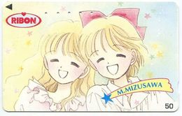 1973 - MIZUSAWA Manga Anime Japan Telefonkarte - Comics