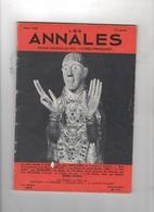 LES ANNALES 03 1965 - MAURS CANTAL - JEAN ROSTAND - PIERRE BRISSON PAUL GERALDY - RACINE - OCCIDENT - J.-H. ROSNY AINE - Journaux - Quotidiens