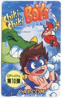 1974 - Chiki Chiki Boys Manga Anime Japan Telefonkarte - Comics