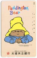 1975 - Paddington Bear Comic Japan Telefonkarte - Comics