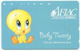 1977 - Baby Tweety Comic Japan Telefonkarte - Comics
