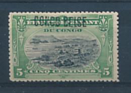 BELGIAN CONGO 1909 ISSUE COB 30B2 LH - Congo Belge