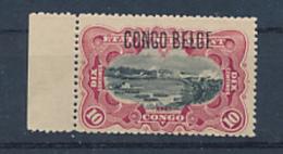 BELGIAN CONGO 1909 ISSUE COB 41 MNH - Congo Belge