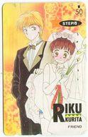 1979 - RIKU Manga Anime Japan Telefonkarte - Comics