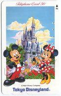 1981 - Micky Maus - Disney Japan Telefonkarte - Comics