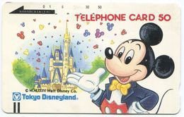 1982 - Micky Maus - Disney Japan Telefonkarte - Comics