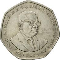 Monnaie, Mauritius, 10 Rupees, 2000, TB+, Copper-nickel, KM:61 - Mauritius