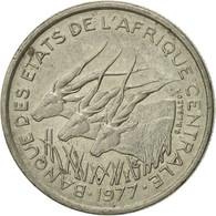 Monnaie, États De L'Afrique Centrale, 50 Francs, 1977, Paris, TTB, Nickel - Centrafricaine (République)