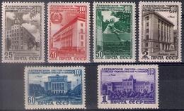 Russia 1950, Michel Nr 1494-99, MLH OG - 1923-1991 USSR