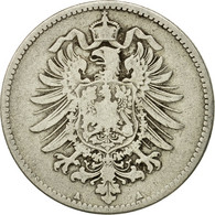 Monnaie, GERMANY - EMPIRE, Wilhelm I, Mark, 1874, Berlin, TTB, Argent, KM:7 - [ 2] 1871-1918: Deutsches Kaiserreich