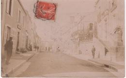 Carte Photo , Bourbonne Les Bains , Rue Vallone , Animation - Bourbonne Les Bains