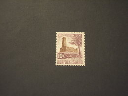 NORFOLK - 1960/3 VEDUTA 10 D.- NUOVO(++) - Isola Norfolk