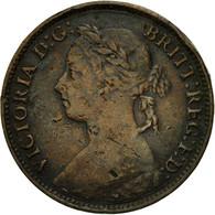 Monnaie, Grande-Bretagne, Victoria, Farthing, 1893, TB+, Bronze, KM:753 - B. 1 Farthing