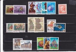 LUXEMBOURG 1983 Yvert 1018-1035 NEUF** MNH Cote : 26 Euros - Luxembourg