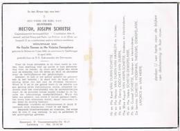 Dp. Oudstrijder 1914-18. Schietse Hector. Wed. Theeuws R. En Dewispelaere V. ° Melsen 1882 † Gentbrugge 1959 - Religion & Esotérisme