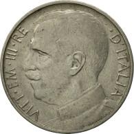Monnaie, Italie, Vittorio Emanuele III, 50 Centesimi, 1919, Rome, TTB, Nickel - 1900-1946 : Vittorio Emanuele III & Umberto II