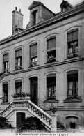 SISSONNE ( AISNE ) .LA KOMMONDANTUR EN 1914-1918.  Carte Postale En Achat Immédiat - Sissonne