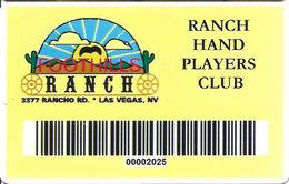 Foothills Ranch Casino - Las Vegas NV - Slot Card - Casino Cards