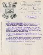 Bordeaux - Sardines à L'Huile - Louis Naves - Illustrée 1926 - France