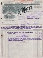 Paris - Instruments, Fournitures Pour Ingénieurs - H. Morin - Illustrée 1924 - France