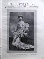 L'illustrazione Italiana 11 Gennaio 1914 Parsifal Di Wagner Regina Elena Politeo - Guerre 1914-18