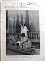 L'illustrazione Italiana 1 Febbraio 1914 Ferro D'Annunzio Carcano Tumiati Milano - Guerre 1914-18