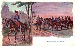 CHASSEURS A CHEVAL - Militares