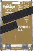 Hard Rock Casino - Las Vegas, NV - Entourage Slot Card (BLANK) - Casino Cards