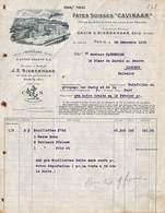 Paris - Pâtes Suisses Cavinaar Siebenhaar - Illustrée 1913 - France