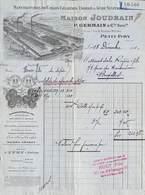 Petit-Ivry (Seine) - Manufacture De Colles Gélatines Engrais & Acide Sulfurique Maison Joudrain - Illustrée 1910 - France
