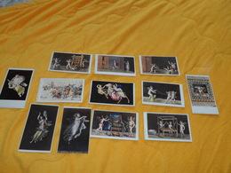 LOT 12 PHOTOS A IDENTIFIER DONT 1 AMODIO NAPLES MILANO. LES AUTRES PHOTOGRAPHIE ARTISTIQUE..MOSAIQUE  POMPEI PEINTURE - Vecchi Documenti