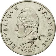Monnaie, Nouvelle-Calédonie, 20 Francs, 1983, Paris, TTB, Nickel, KM:12 - New Caledonia