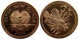 Papua New Guinea - 2 Toea 2004 UNC Roll - Papouasie-Nouvelle-Guinée