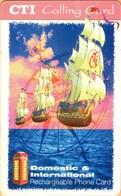 Puerto Rico - MV: PRI D01, CTI, Remote Memory, Caravelle, Thick Plastic, 1996, Used - Puerto Rico