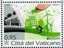 2016 Vatican Europa CEPT - Think Green - 1 V Paper - MNH** MI 1873 (üü17) - 2016