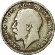 Monnaie, Grande-Bretagne, George V, 1/2 Crown, 1920, TB, Argent, KM:818.1a - 1902-1971 : Monnaies Post-Victoriennes