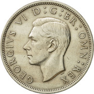 Monnaie, Grande-Bretagne, George VI, 1/2 Crown, 1950, TTB+, Copper-nickel - 1902-1971 : Monnaies Post-Victoriennes
