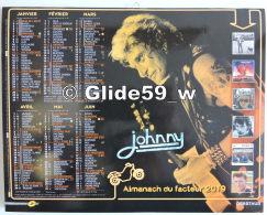 A Saisir ! Johnny HALLYDAY - Almanach (calendrier) 2019 - Calendars