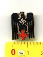 Mitglieds-Abzeichen,3.Reich,> #* DRK, Deutsches Rotes Kreuz, Red Cross, Croix Rouge *#,badge Allemand - Germany