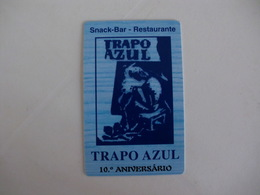 Snack-Bar Restaurante Trapo Azul Almada Portugal Portuguese Pocket Calendar 2005 - Small : 2001-...