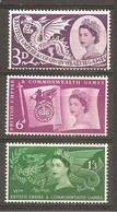 Gran Bretaña/ Great Britain Nº Yvert  312-14 (MNH/**) - 1952-.... (Elizabeth II)