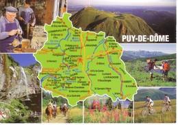 63 PUY DE DOME - Landkarten