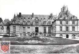 60 - BORAN Sur OISE : Le Chateau - CPSM Dentelée Noir Et Blanc GF - Oise - Boran-sur-Oise